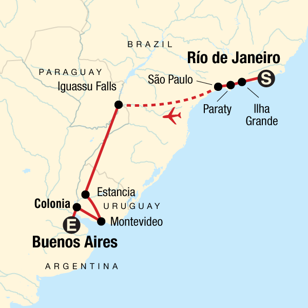 b1785954b7a In Search of Iguassu–Rio to Buenos Aires in Brazil, South America ...