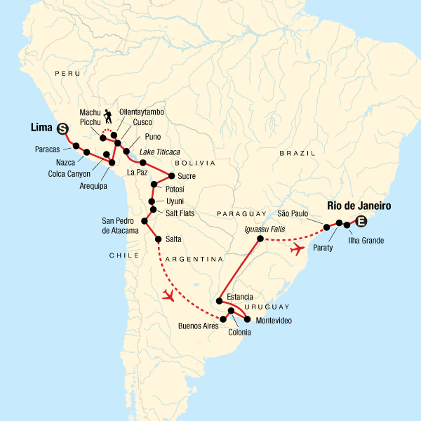 Lima to Rio Adventure