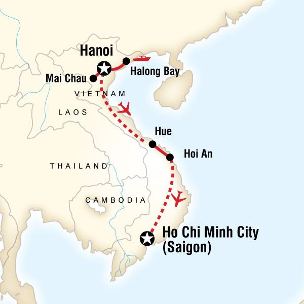 Explore Vietnam in Vietnam Asia G Adventures