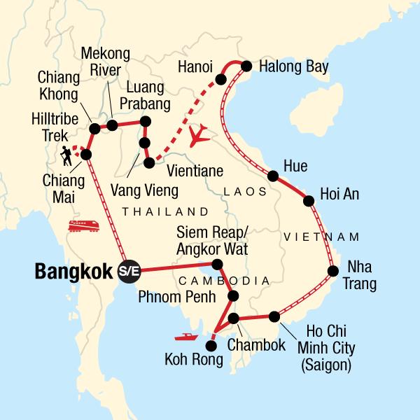 Entdecke Südostasien und Trekking in Nordthailand in
