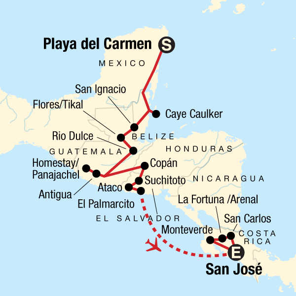 Central American Journey in Mexico, Central America - G Adventures