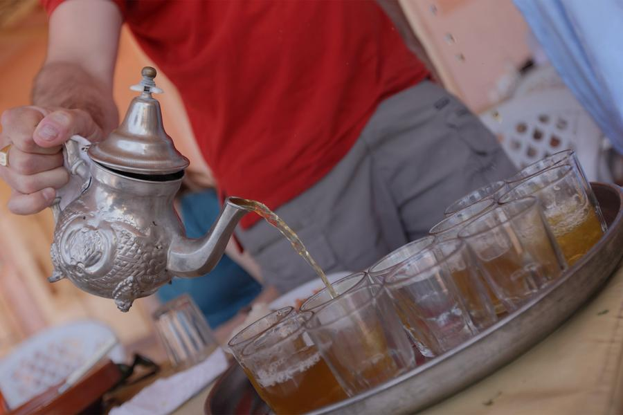 Nothing can begin in Morocco, it seems, until the tea is poured. Travel writer Shelley Seale explores this time-honoured tradition.
