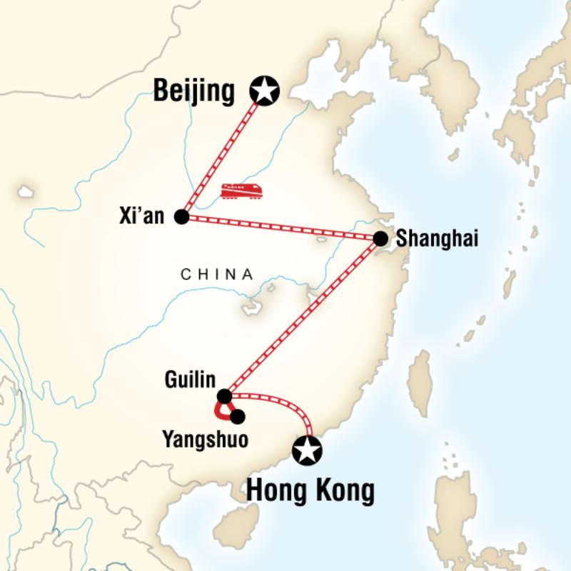 trips beijing hong kong express itinerary