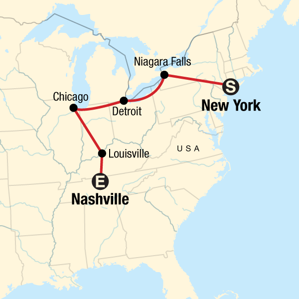USA Road Trip: New York to Nashville in United States, North ... Detroit On Map Of Usa on detroit on world map, michigan usa, detroit suburbs map, baltimore map usa, minneapolis map usa, milwaukee map usa, detroit state map, city street maps usa, detroit city map, pittsburgh map usa, detroit area, detroit on us map,