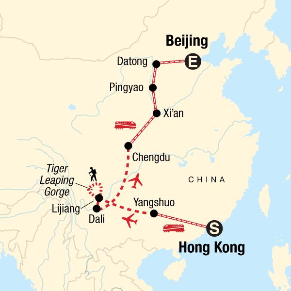 Beijing Subway Map 2021 Good Quality.Classic Hong Kong To Beijing Adventure