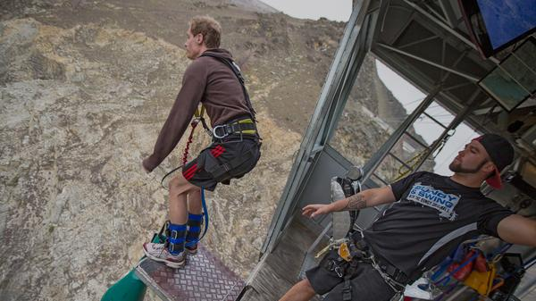 Hold on to something and take a seven-second free fall in New Zealand!