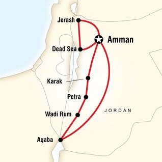 Jordan Tours & Travel G Adventures