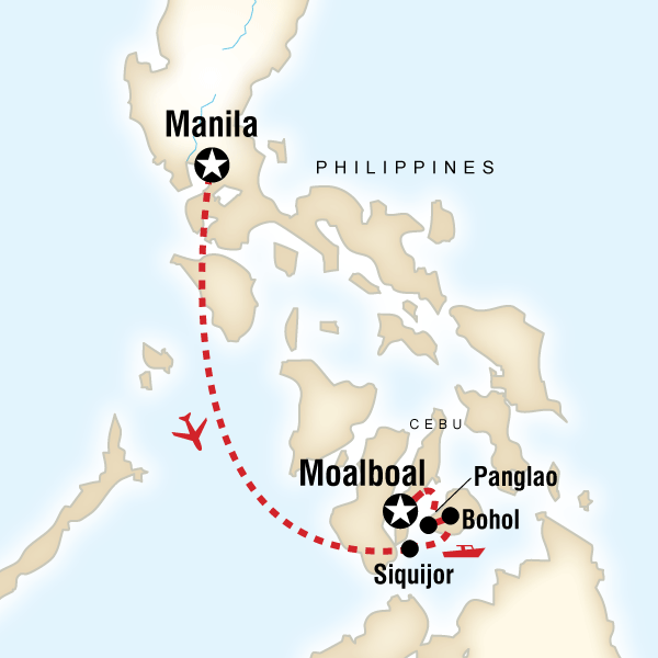Islands of the Philippines on a Shoestring in Philippines Asia G