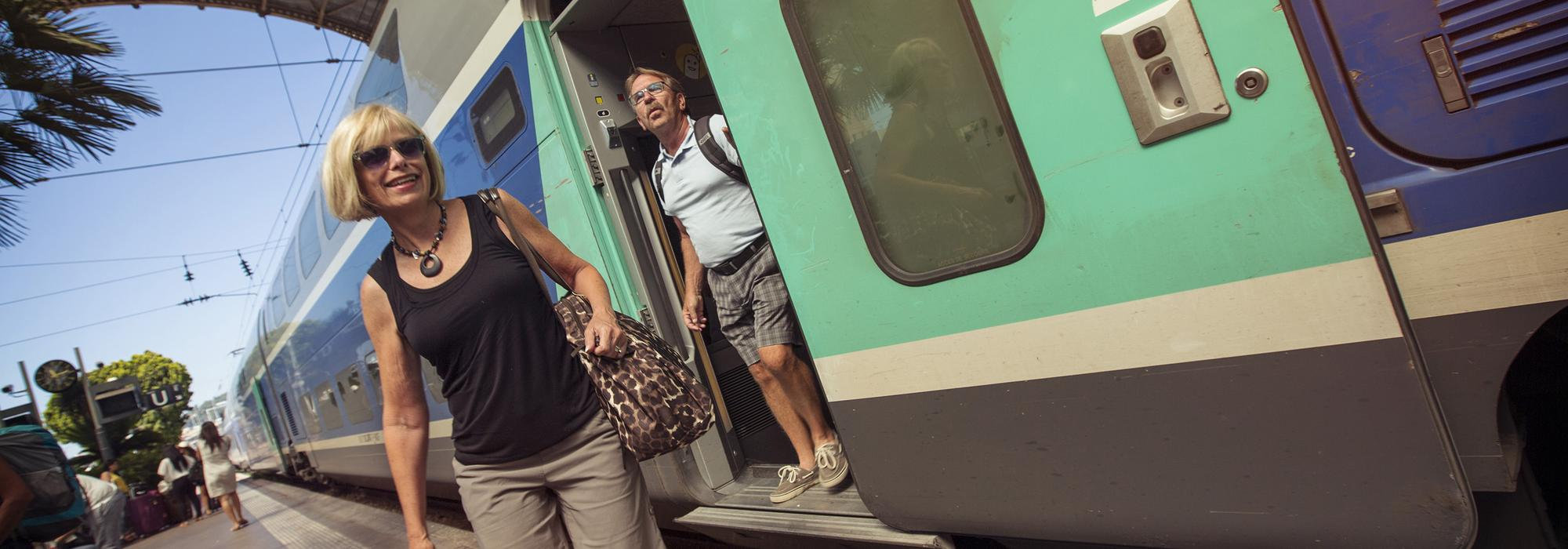 From convenience to cost, getting there by rail is a great —?and scenic —?option
