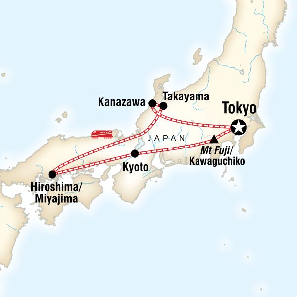 Hiroshima Map Of Japan.Discover Japan In Japan Asia G Adventures