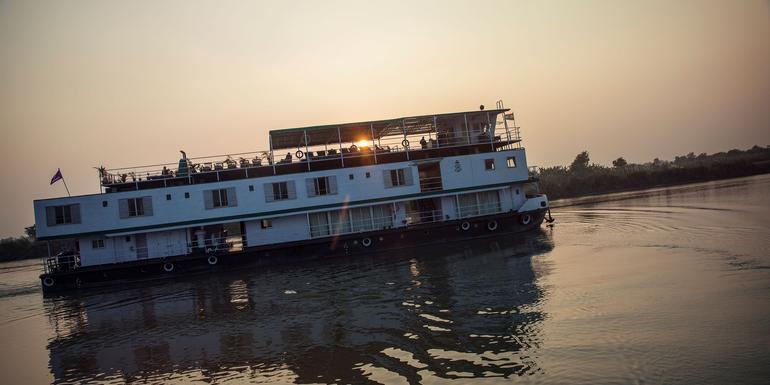 Ganges River Encompassed