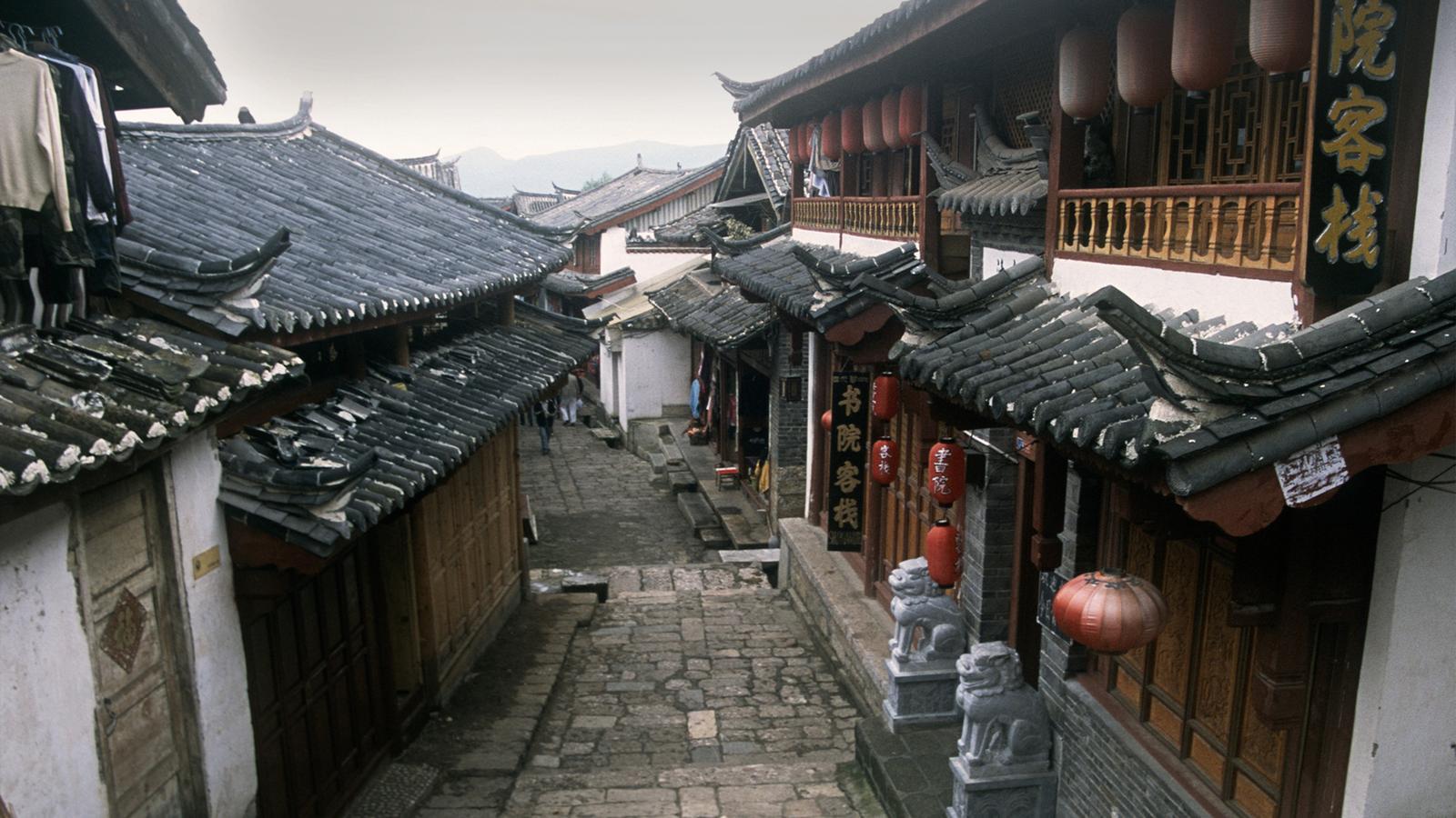 Lijang village in China