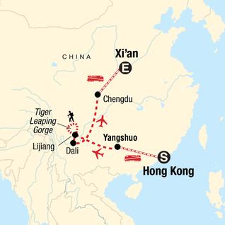 Karte China Hong Kong.Getting Around Hong Kong G Adventures