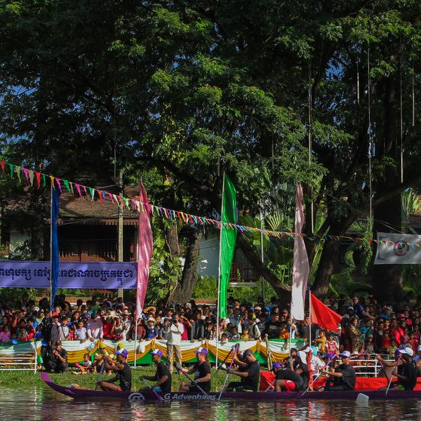 Cambodian Water Festival and Longboat Race