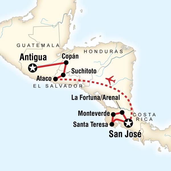 Backroads of Central America in Costa Rica, Central America - G ...
