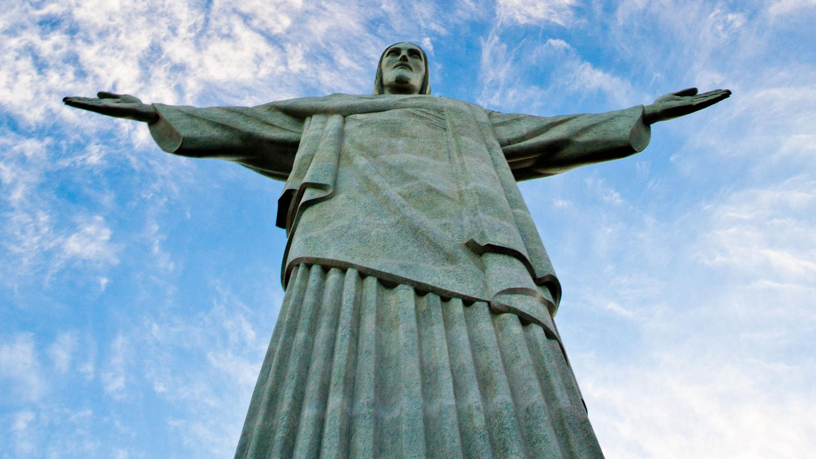 The iconic Christ the Redeemer in Rio, Brazil