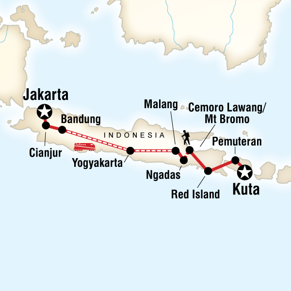 Indonesia on a Shoestring – Java to Kuta in Indonesia, Asia - G ...