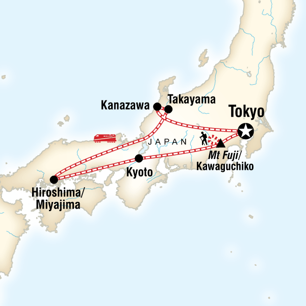 Discover Japan Hike Mt Fuji In Japan Asia G Adventures