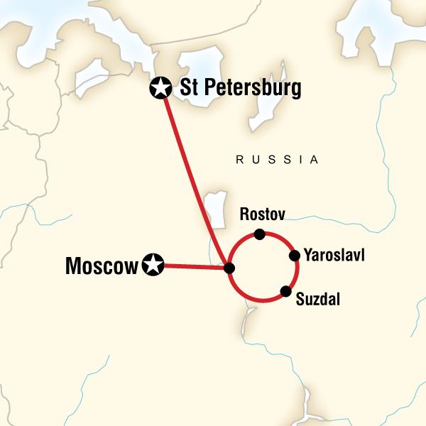 Golden Ring Of Russia G Adventures