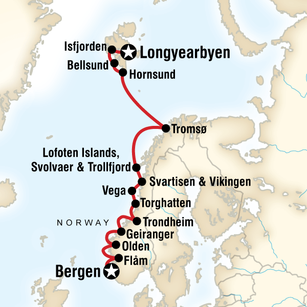 Norwegian Fjords & Arctic Discovery in Norway, Arctic - G Adventures