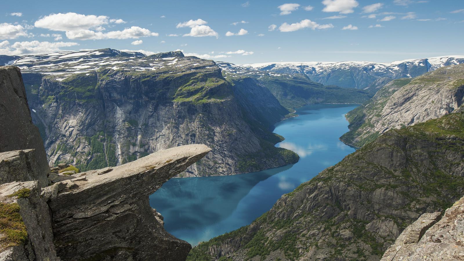 เที่ยวยุโรป Norway Fjord