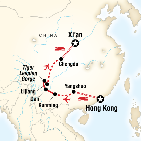 Classic Hong Kong to Xi\'an Adventure in China, Asia - G Adventures