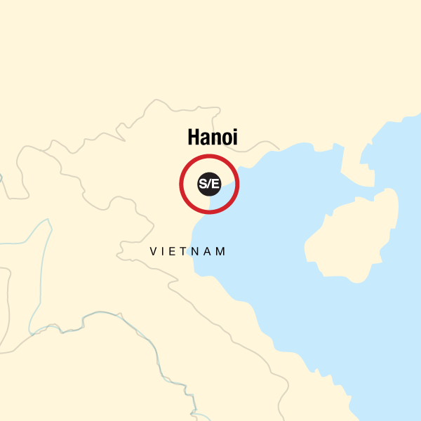 Map of the route for Hanoi Day Tour: Hao Lu and Tam Coc (Ninh Binh) (full day)