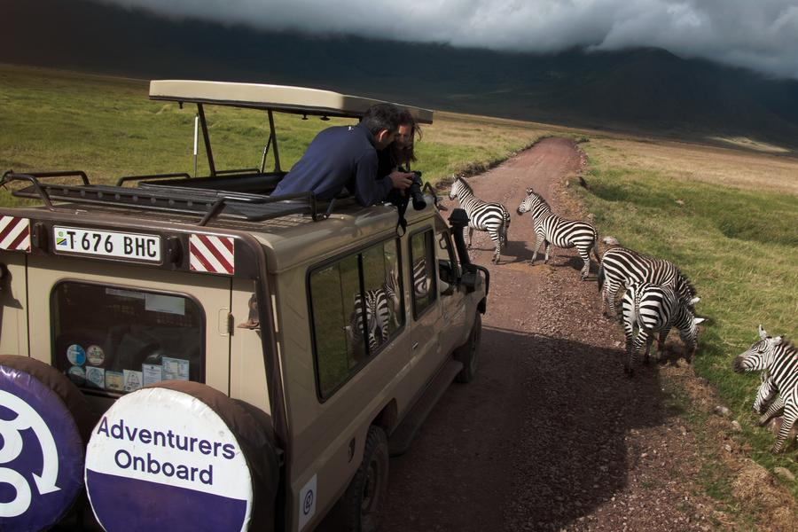G Adventures CEO Wilson takes about what it's like to travel with him through East Africa