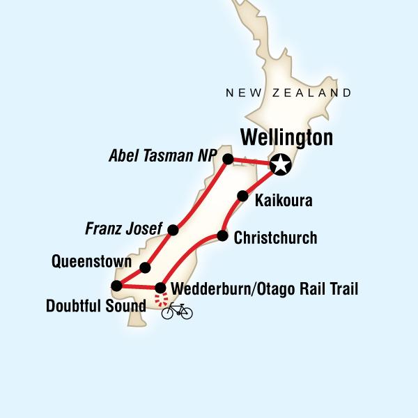 New ZealandSouth Island Encompassed in New Zealand Australia