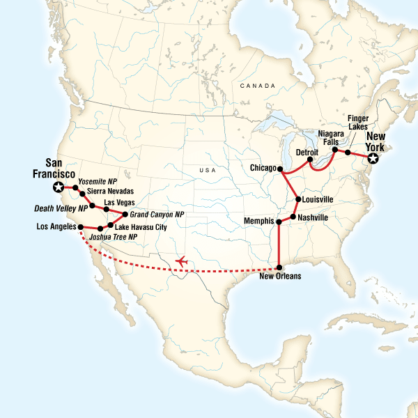 Best of the US Express in United States, North America - G Adventures