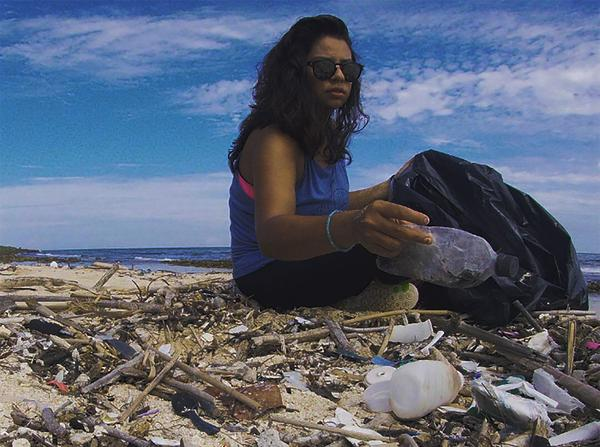 From cleaning ocean plastic to donating hair, these adventurers are giving back (or plan to!)