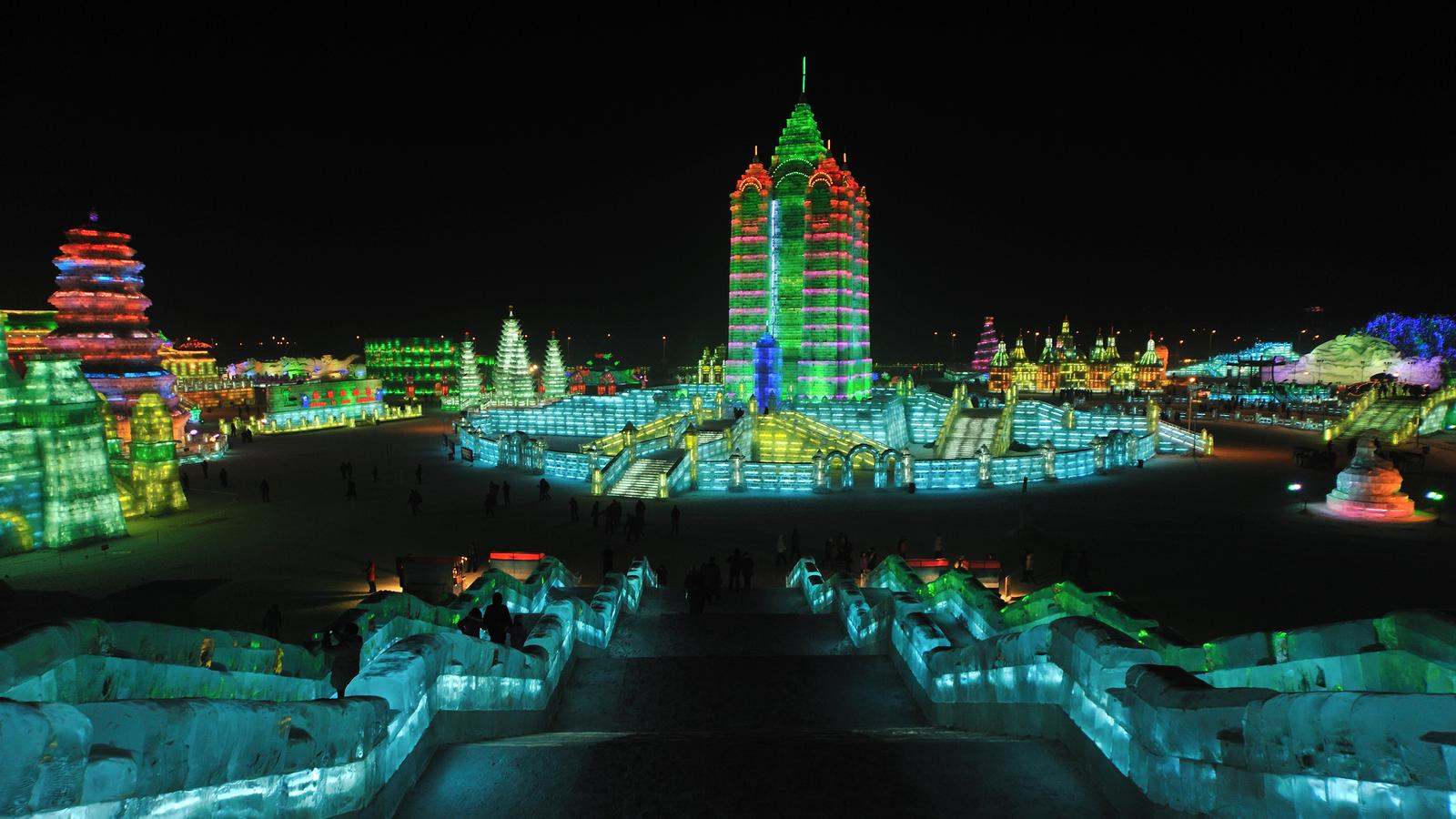 Experience Harbin Ice Festival & Beijing In China, Asia