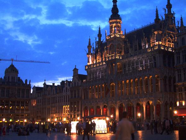 Why the Belgian city square just might be the most beautiful in the world