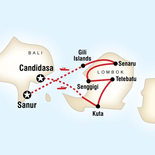 Endonezya Lombok Adası Turu