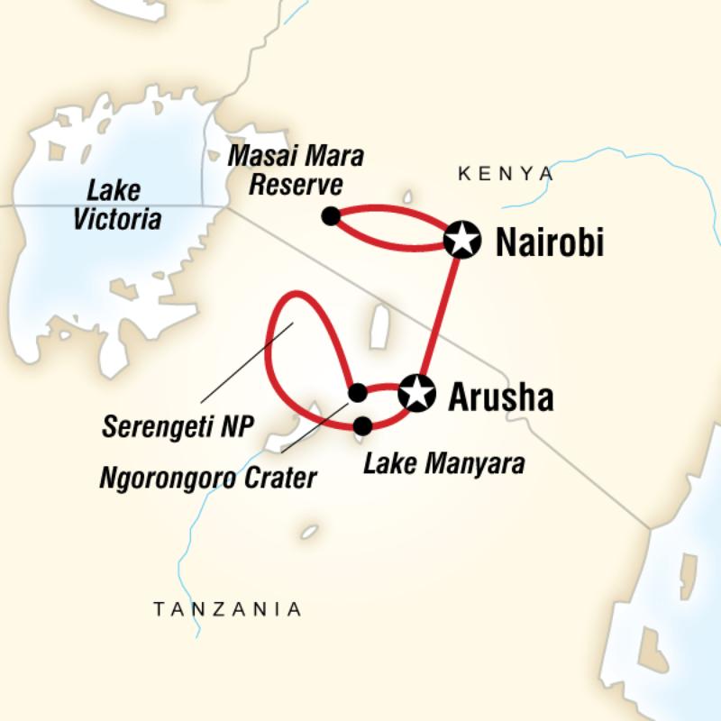 Masai & Tanzania Camping Safari In Tanzania, Africa