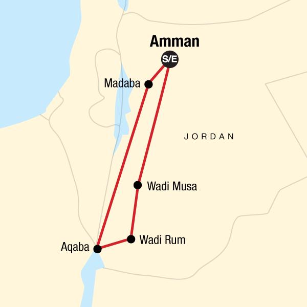 Jordanien kompakt – Rotes Meer & Ruinen in Jordanien, Norden ...