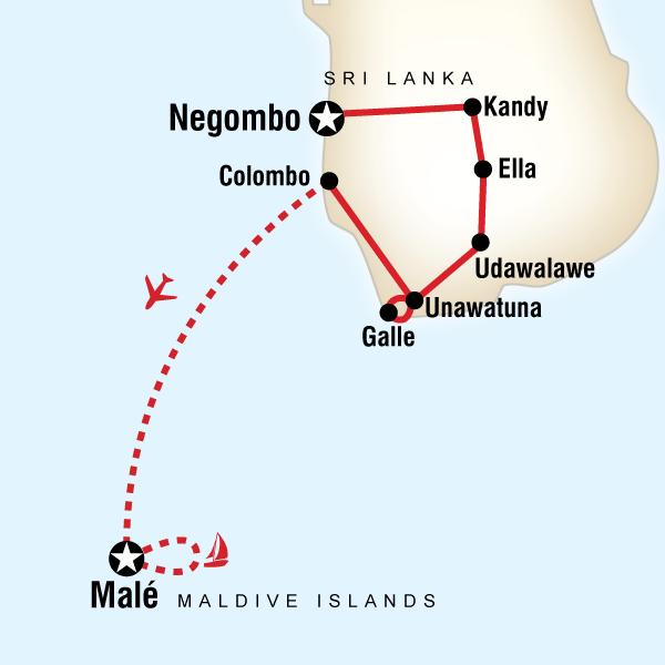 Sri Lanka Maldivler Turu