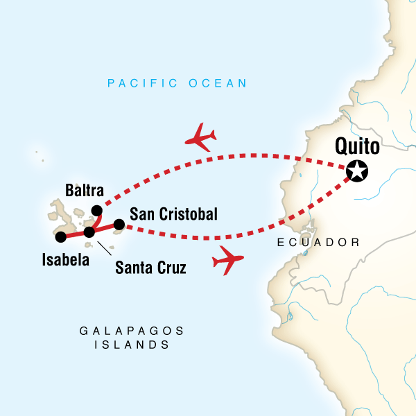 Galpagos on a Shoestring in Galapagos South America  G Adventures