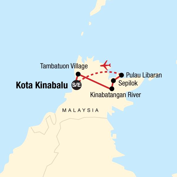 Erlebe Borneo: Rundreise durch Ost-Sabah in Borneo, Asien - G Adventures