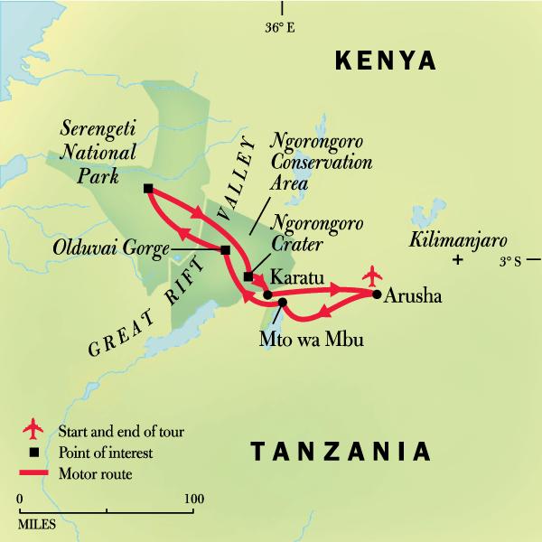 Tanzania Family Journey: A Serengeti Safari in Tanzania, Africa - G