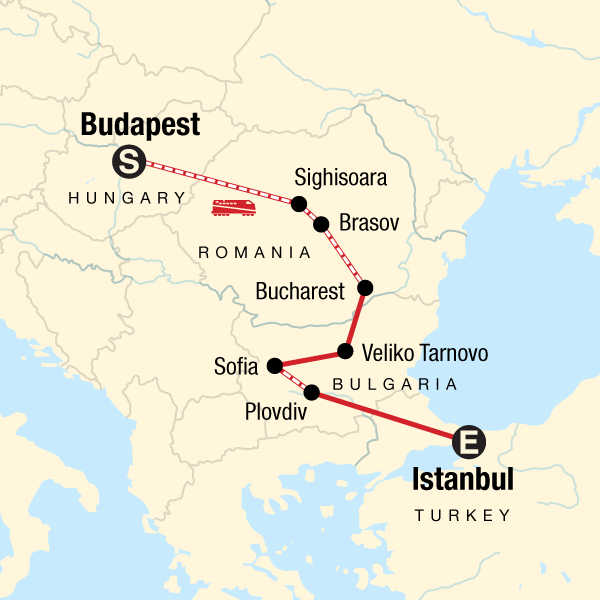Budapest to Istanbul