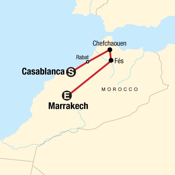 Northern Morocco Blue Cities Seas