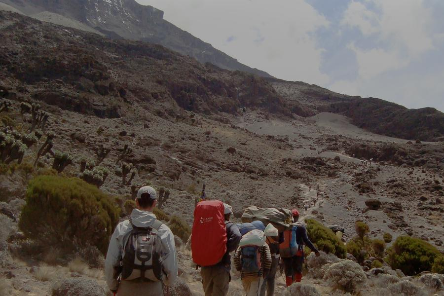 Travel blogger and photographer Greg Snell talks about the grueling last 100 metres up Mt Kilimanjaro.