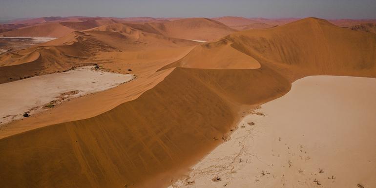 Dunes, Deltas