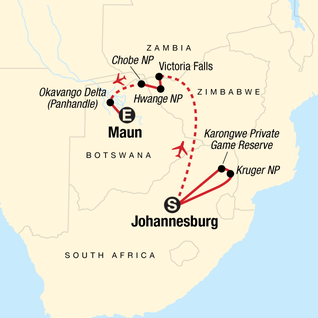 Panorama Route South Africa Map.Explore Kruger Victoria Falls In South Africa Africa G Adventures