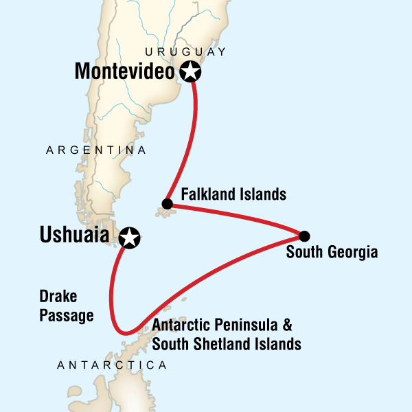 Falklands, South Georgia & Antarctica in Antarctica, Antarctica - G ...
