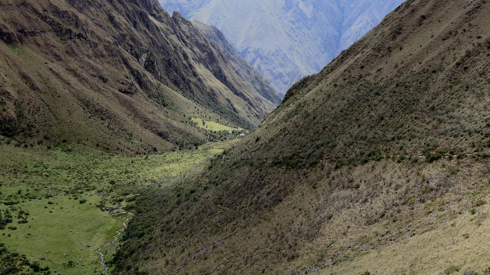 Dead Woman's Pass on the Inca Trail - G Adventures