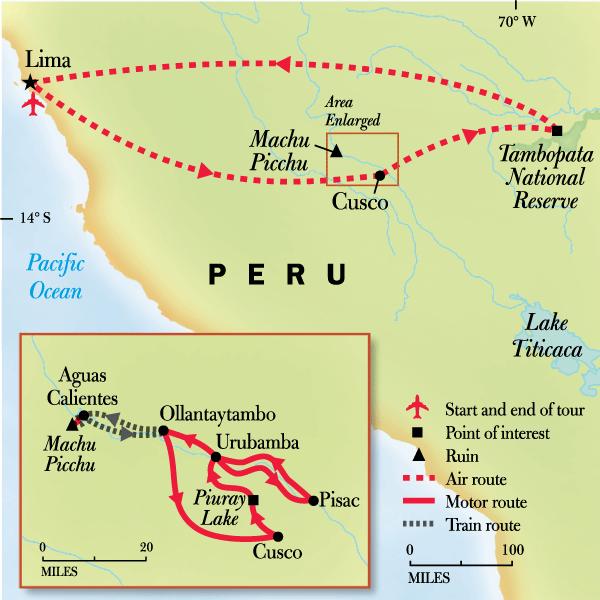Peru Family Journey: Von Machu Picchu in den Amazonas in ...