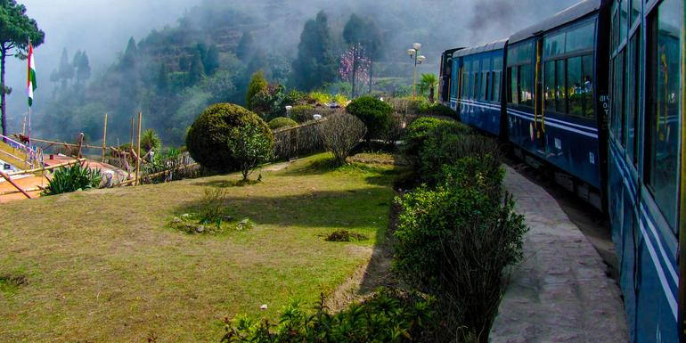 Cover Image of Northeast India & Darjeeling by Rail