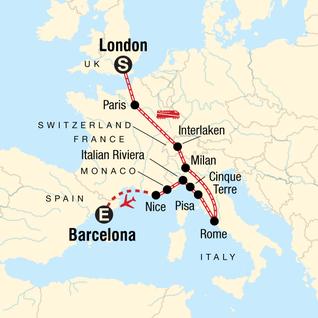 Monaco On Map Of France.Monaco Tours Travel G Adventures